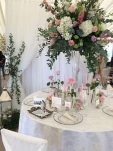 keythorpe manor nerissa eve weddings glass vase centrepiece silver and glass accessories orig 225x300