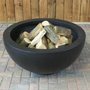 XL black metal deep firepit for patio decking 600x600 1 300x300